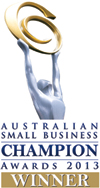 Condon Associates is the Small Business Champion Awards Winner in Accoubnting Services